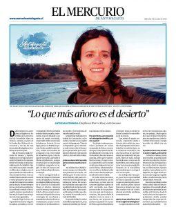 Entrevista a Daphnea Iturra